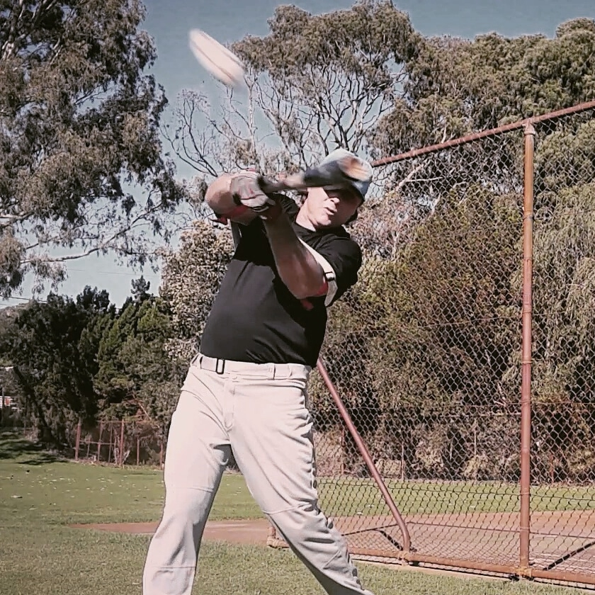 Develop a strong baseball swing, core power hitting muscles connecting to your smaller fast twitch muscles enabling your proper kinetic chain